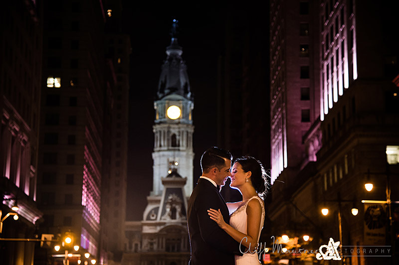 I really enjoy shooting on the avenue of the arts in the evening with Philadelphia City hall in the background to put an exclamation point on the end of a great day